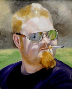 Guy Smoking
