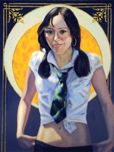 School Girl- Annabel Lee