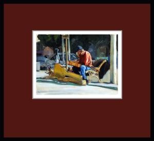 Homless Street Musician 3 small
